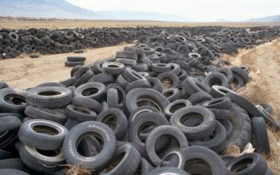 Is this an acceptable tire recycling approach?