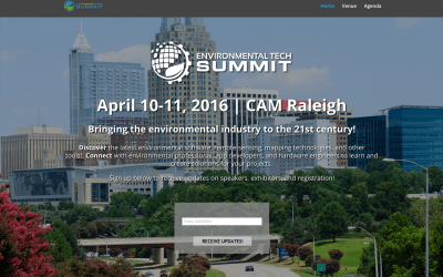 Call for Speakers: Environmental Tech Summit, April 2016