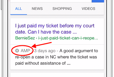 Getting amped-up about AMP